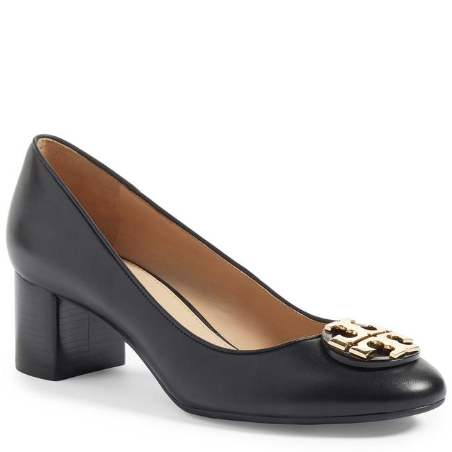 Item - Black Claire 50mm Nappa Leather Pumps Platforms Size US 9 Regular (M, B)