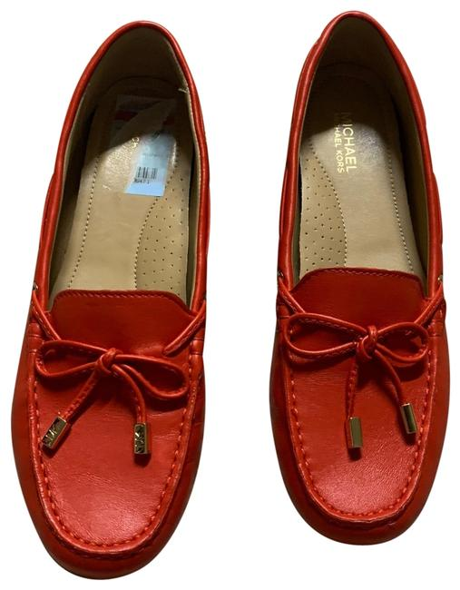 Item - Orange Flats Size US 7.5 Regular (M, B)