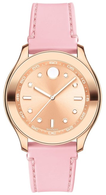 Item - Pink Bold Silicone Rose Gold Steel 3600426 Watch