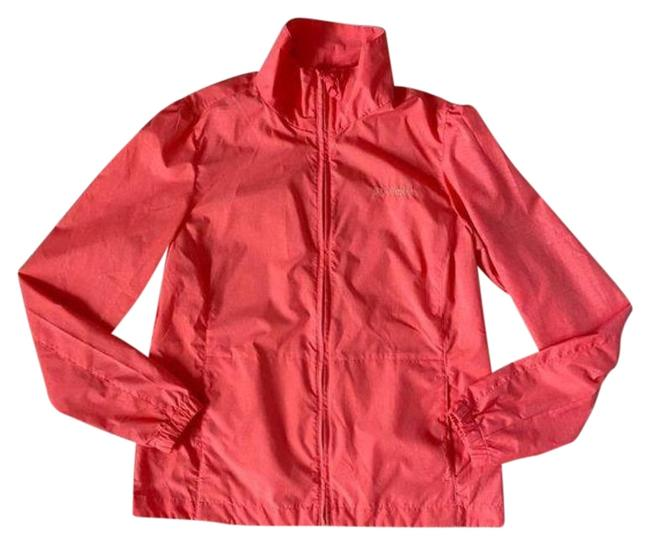 Item - Red Orange Coral Omni-shade Windbreaker Jacket Size 8 (M)
