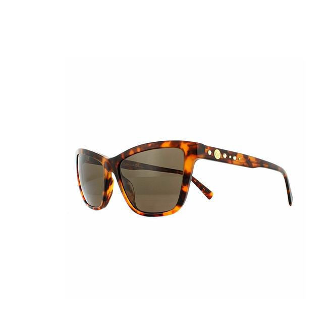 Item - Havana Frame & Brown Lens Ve4354b 524473 55 Cat Eye Women's Sunglasses