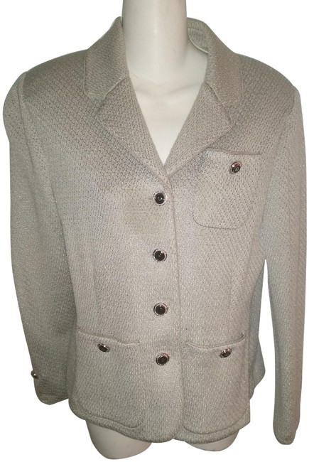 Item - Gray Vintage Knit Jacket Size 6 (S)