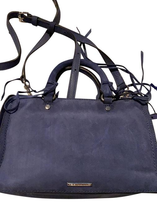 Item - Blue Suede Leather Satchel