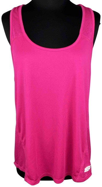 Item - Pink Glo XL Sport Athletic Sleeveless Polyester Activewear Top Size 16 (XL, Plus 0x)
