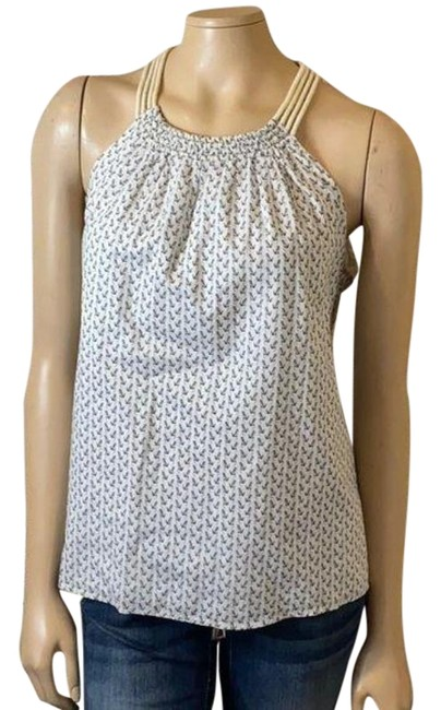 Item - White Anchor Rope Tank Top/Cami Size 4 (S)