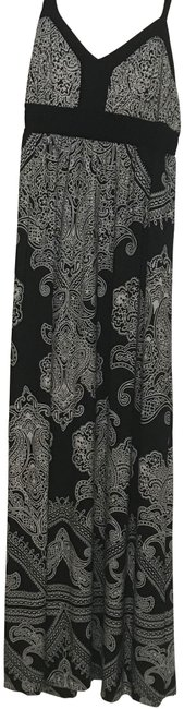Item - Black and White Long Casual Maxi Dress Size 12 (L)