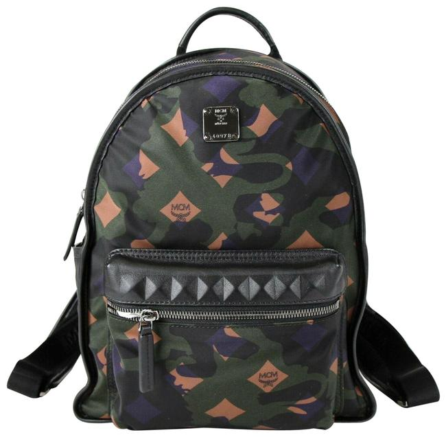 Item - Small Dieter In Munich Lion Camo Muk7adt02gx001 Green Nylon Backpack