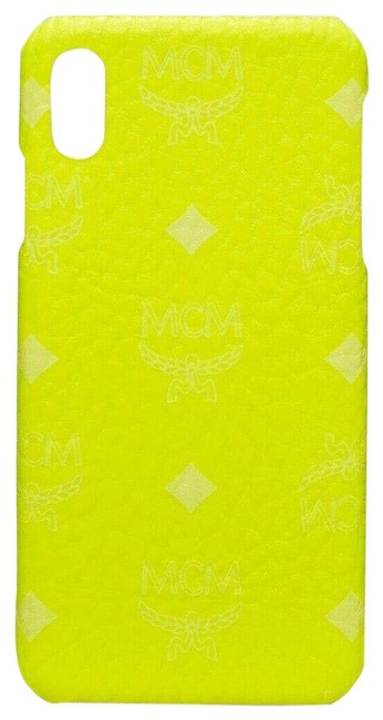 Item - Neon Yellow XS Iphone Max Cell Phone Case In Visetos Mze9avi39yn001 Tech Accessory