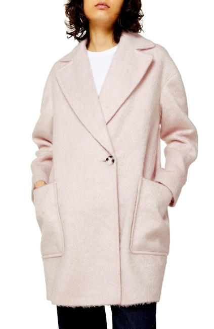 Item - Pink Carly Oversized Long Coat Size 4 (S)