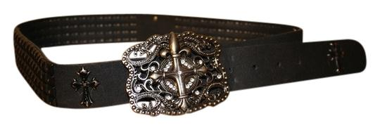 Other black buckle belt
