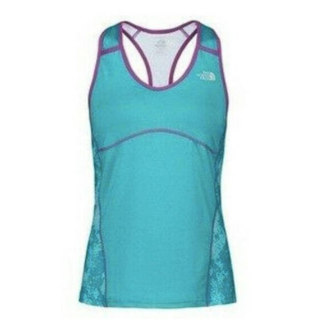 Item - Green Eat My Dust Sport Tank ~ Small Activewear Top Size 4 (S)