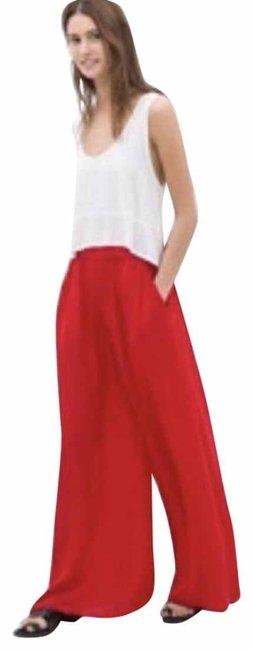 Item - Red Pocketed Flowy Pants Size 8 (M, 29, 30)