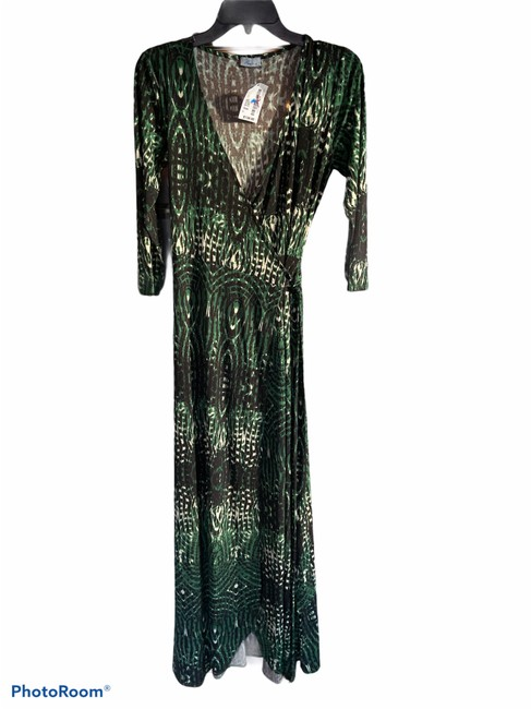 Item - Green #24-dl Long Casual Maxi Dress Size 4 (S)