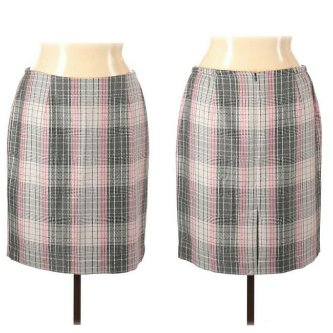 Item - Pink and Gray Skirt Size 14 (L, 34)