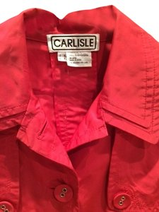Carlisle Spring Rain Lightweight Watermelon Jacket