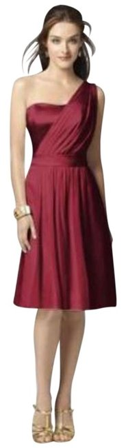 Item - Red 2862 Mid-length Night Out Dress Size 2 (XS)