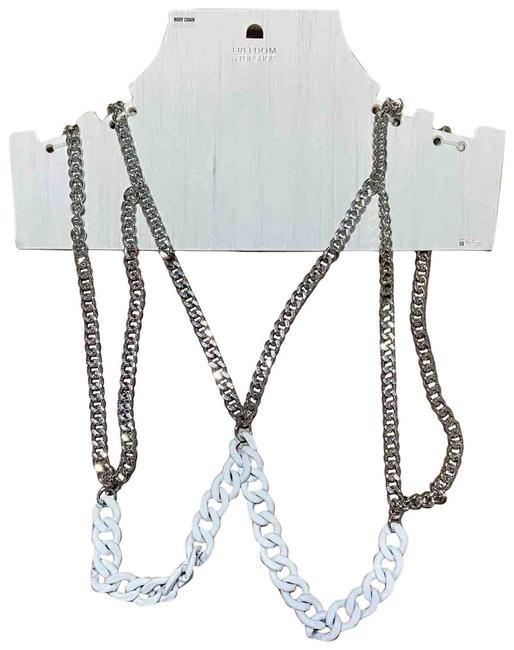 Item - Silver Freedom Body Chain Necklace