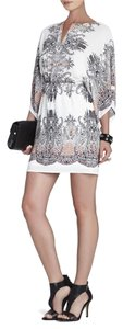 BCBGMAXAZRIA short dress Pink Clay combo on Tradesy