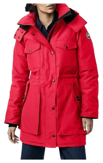 Item - Red Gabriola Water Resistant Arctic 625 Fill Down Parka Coat Size 4 (S)