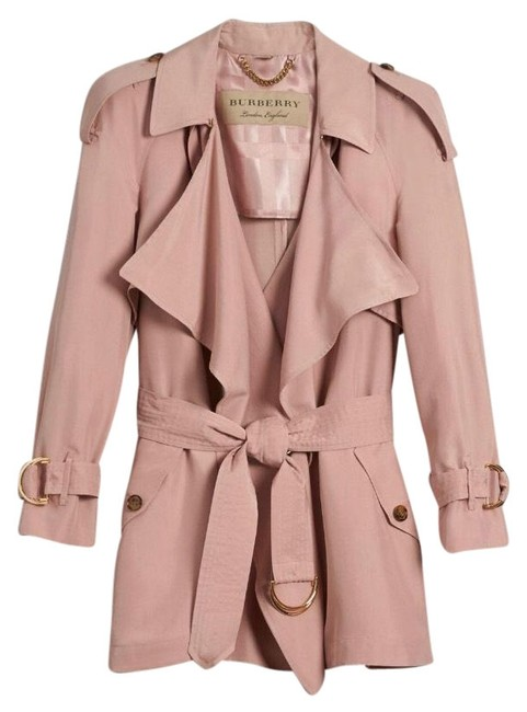 Item - Pink Ash Rose Silk 6/40 Coat Size 6 (S)