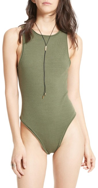 Item - Intimately She's A Babe Bodysuit Ob562067 Green Top