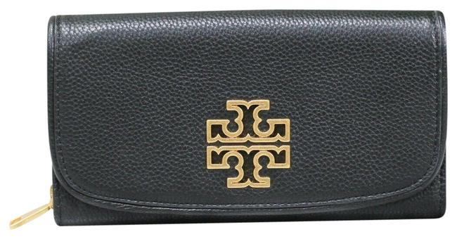 Item - Black Britten Clutch Duo Envelope Small Leather Continental (60414) Wallet