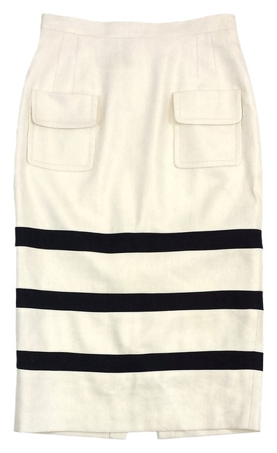 Preload https://item1.tradesy.com/images/tracy-reese-ivory-and-black-striped-linen-midi-size-4-s-27-2826910-0-0.jpg?width=400&height=650