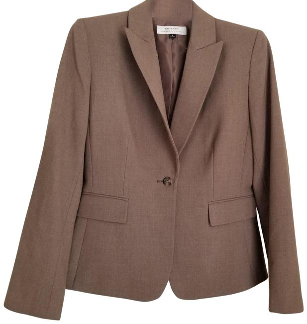Item - Brown and Gray Jj479 Skirt Suit Size 8 (M)