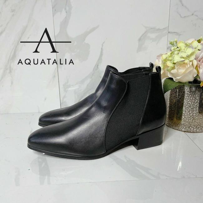 Item - Black Falco Waterproof Elastic Ankle Chelsea Leather Boots/Booties Size US 9.5 Regular (M, B)