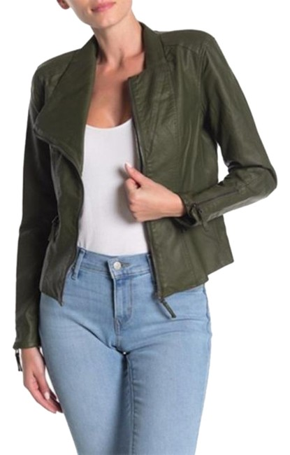Item - Green Moto Jacket Size 4 (S)