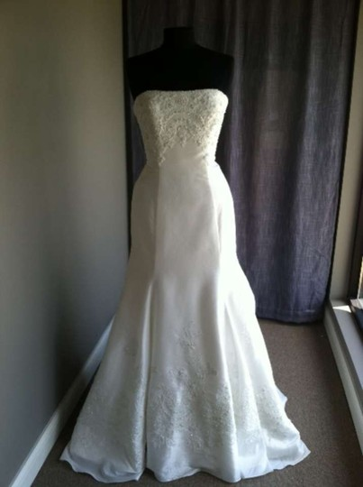 Casablanca Diamond White 1902 Modern Dress Size 12 (L)