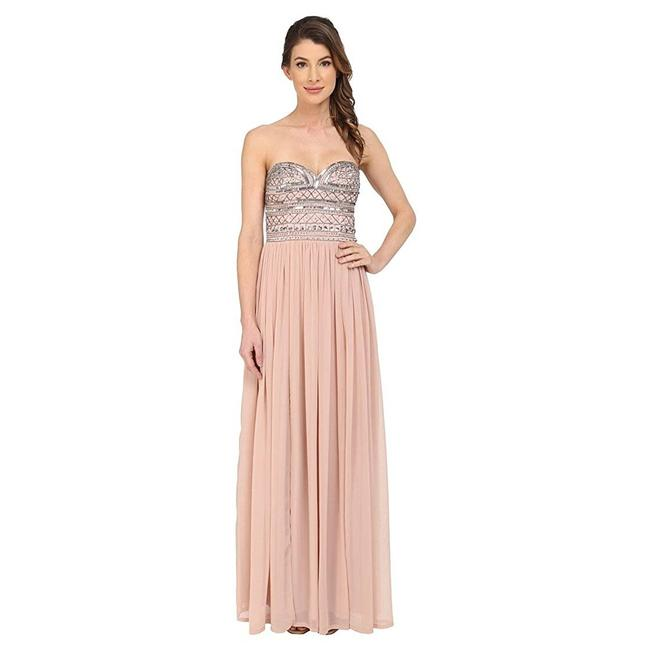 Item - Pink By Strapless Gown Sequin Bodice Blush Long Formal Dress Size 12 (L)