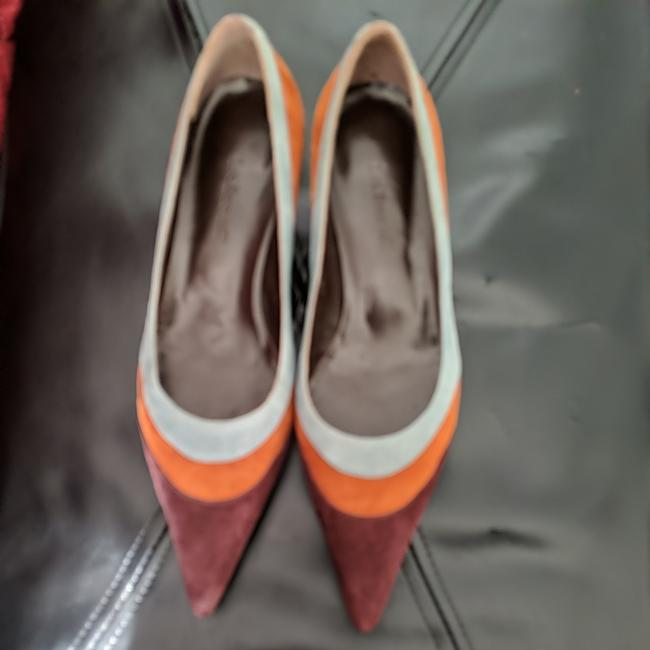 Item - Multicolored Audrey Suede Court Kitten Heel Pumps Size EU 39 (Approx. US 9) Regular (M, B)