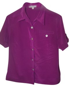 TravelSmith Button Down Shirt purple