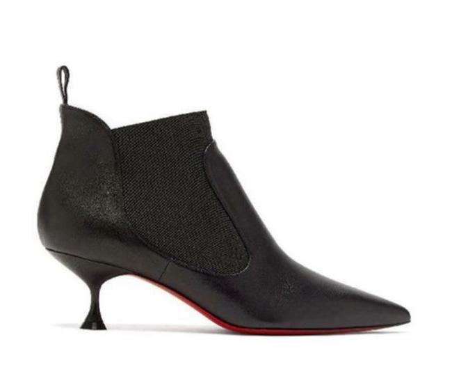 Item - Black Carnavague Leather 55mm Classic Boots/Booties Size EU 35.5 (Approx. US 5.5) Regular (M, B)