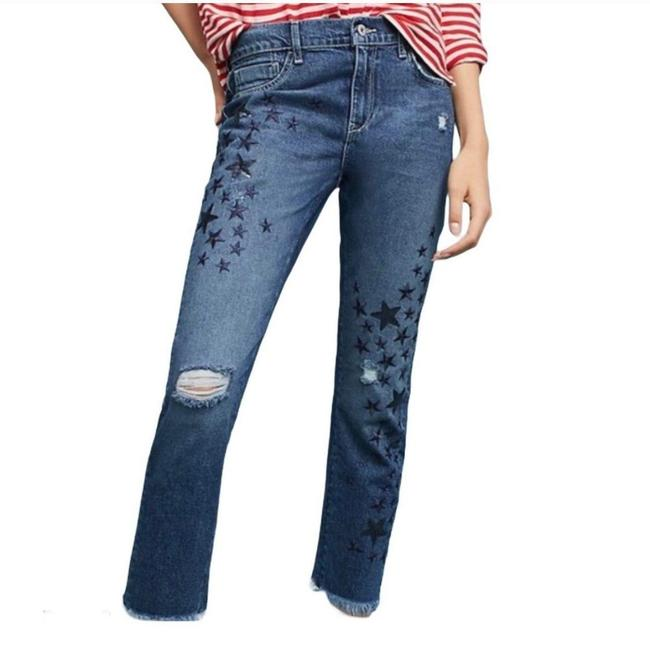 Item - Pilcro and The Letterpress Blue Boyfriend Cut Jeans Size 28 (4, S)