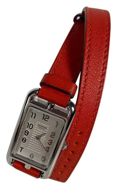 Item - Red Cape Cod Double Tour Nantucket Ss Leather Na2.210 Watch
