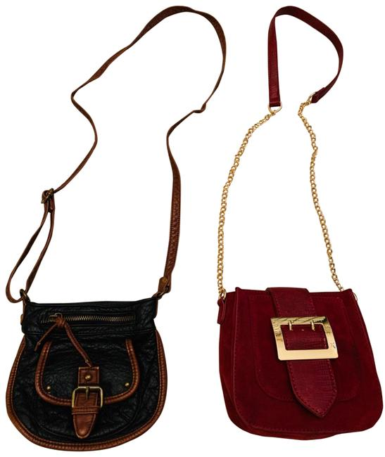 Item - 2 Purses Black Cross Body Bag