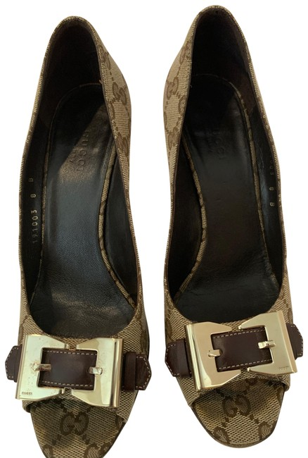 Item - Tan Brown simma Canvas Pumps Size US 8 Regular (M, B)