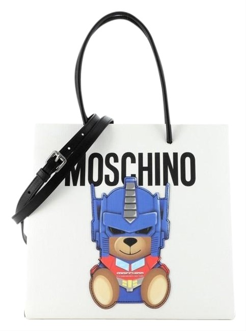 Item - Transformer Printed Pvc White Coated Canvas Tote