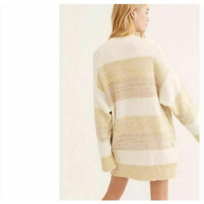 Free People Cream Tan Southport Oversized Beach Cardigan Size 10 (M) Free People Cream Tan Southport Oversized Beach Cardigan Size 10 (M) Image 4