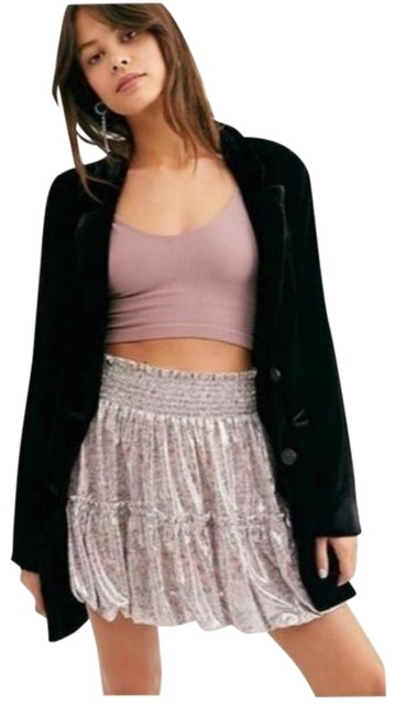 Item - Lavender In A Bubble Satin Skirt Size 2 (XS, 26)