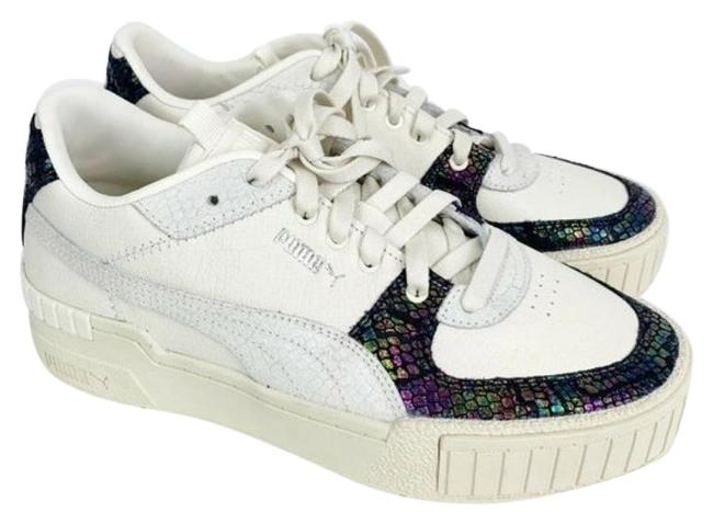 Item - White Cali Sport Animal Sneakers Size US 9 Regular (M, B)