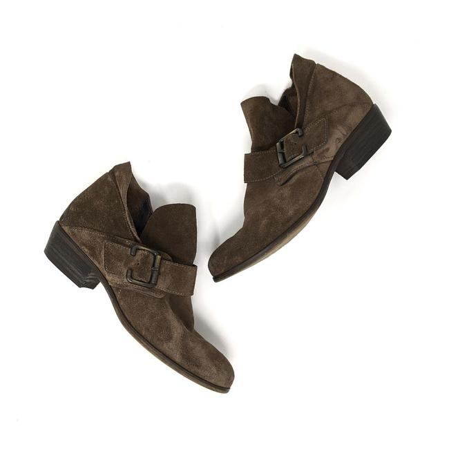 Item - Tan Capshaw Suede Buckle Ankle Boots/Booties Size US 5.5 Regular (M, B)
