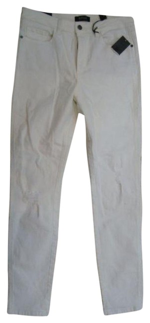 Item - White High Rise Skinny Jeans Size 29 (6, M)