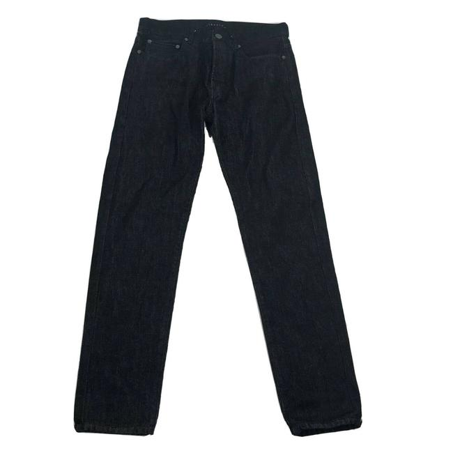 Item - Black Button Front High Waist Straight Leg Jeans Size 30 (6, M)