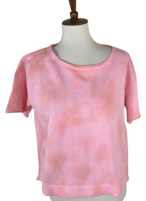 Item - Orange Pink Tie Dye Slouchy Tee Shirt Size 2 (XS)