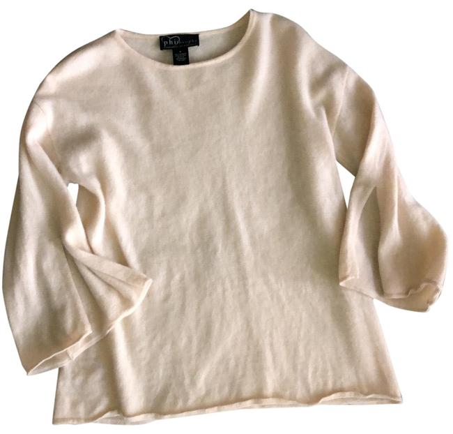 Item - Cashmere Split Sleeve Pale Pink Sweater