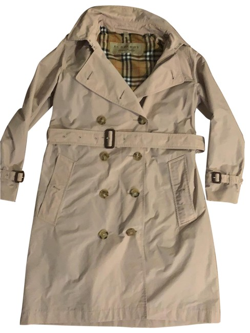 Item - Nude Light Trench Jacket Size 8 (M)