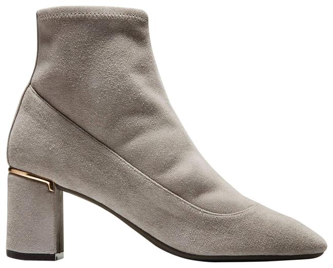 Item - Gray Laree Suede Stretch Ankle 10b Boots/Booties Size US 10 Regular (M, B)